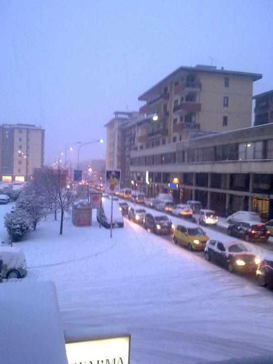 Repubblica snow