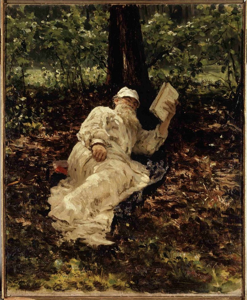 Ilja Efimovitch Repin, Lev Tolstoj