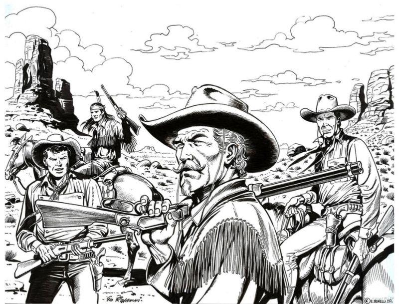 Tex et Kit Carson