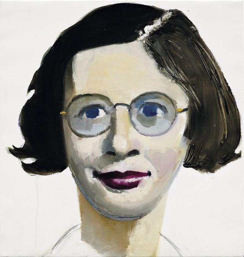 Simone Weil 2008 Olio su tela 60 x 60 _905 (1)