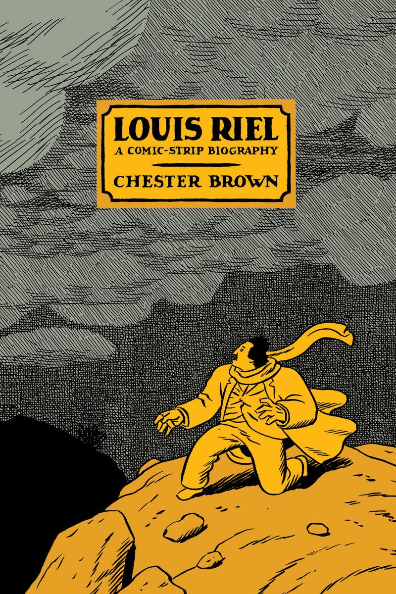 Louis Riel Brown copertina