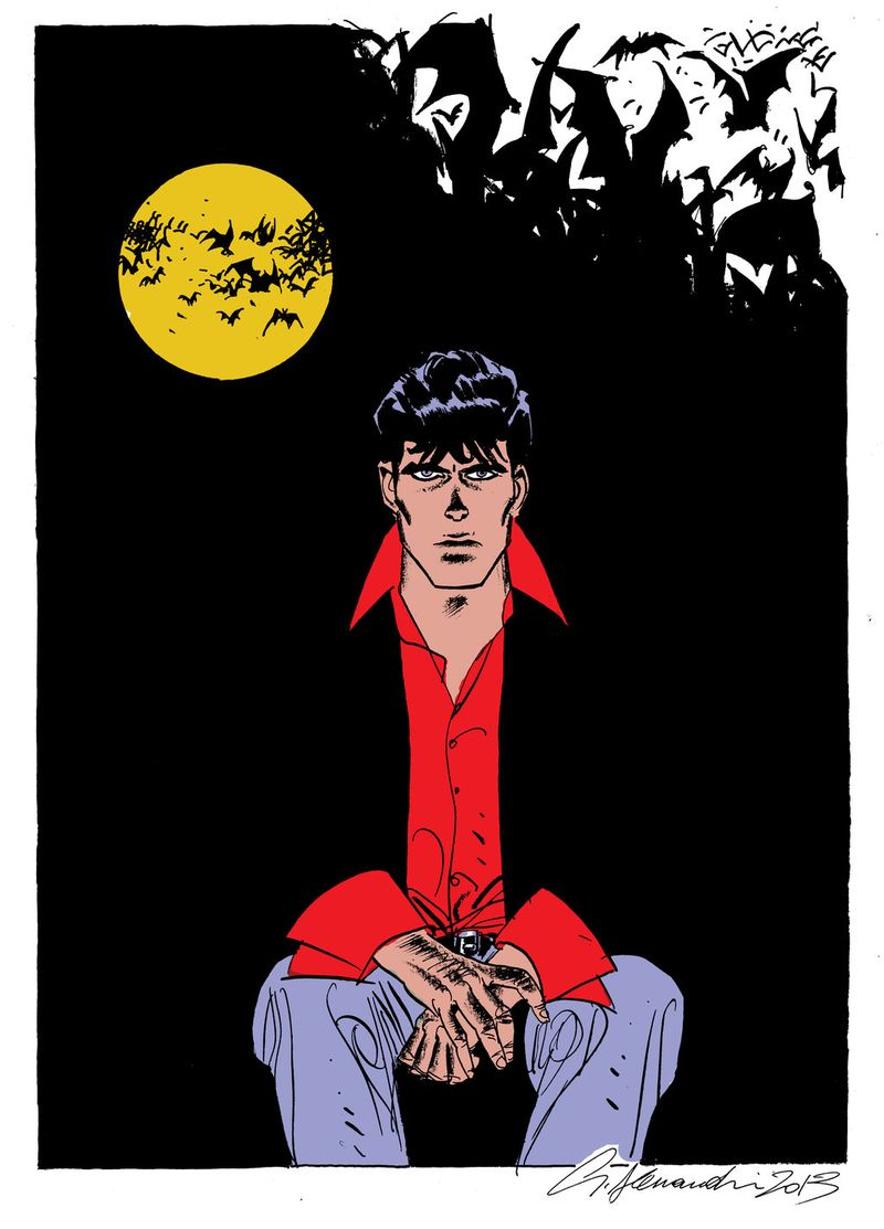 Dylan_dog_colore_by_g_alessandrini-d6ci0mb