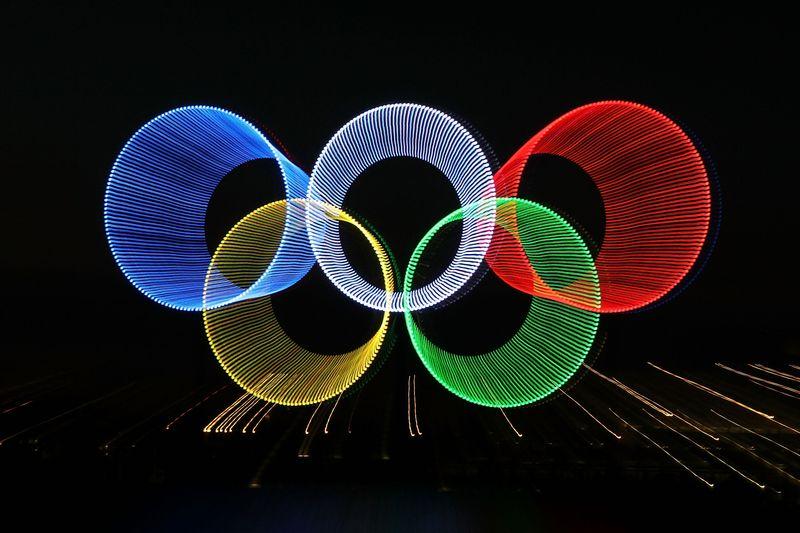Sport anelli olimpici